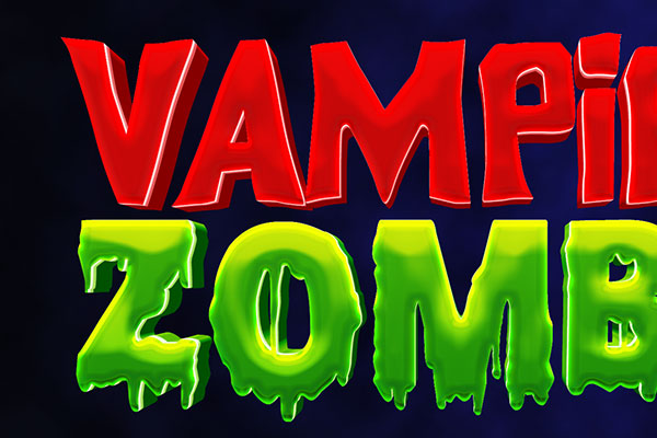 Zombie Game Text Effect Download Text Style