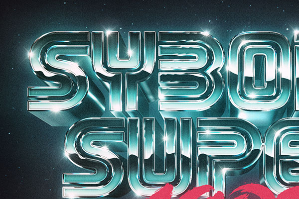 80s Retro Text Effect Download Text Style