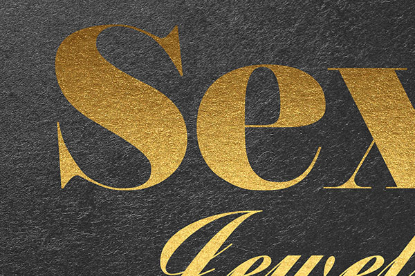 Gold Text Effect Vol.1