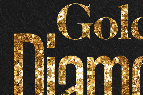 Gold Text Effect Vol.10