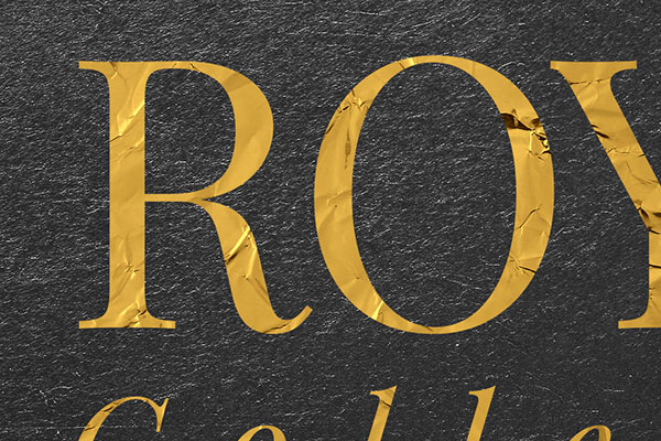 Gold Text Effect Vol.12