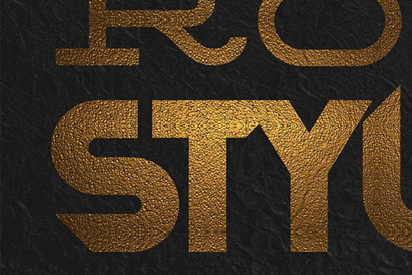 Gold Text Effect Vol.13