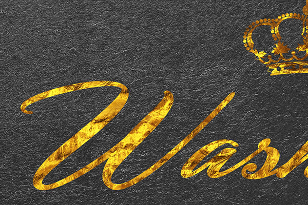 Gold Text Effect Vol.17