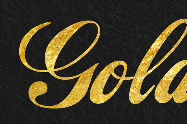 Gold Text Effect Vol.20