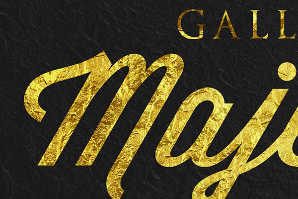 Gold Text Effect Vol.21