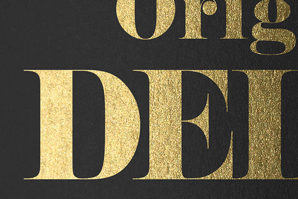 Gold Text Effect Vol.22