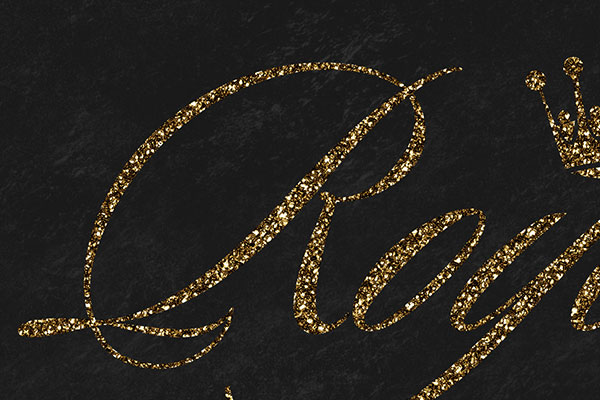 Gold Text Effect Vol.26