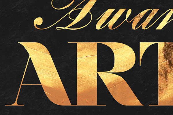 Gold Text Effect Vol.32