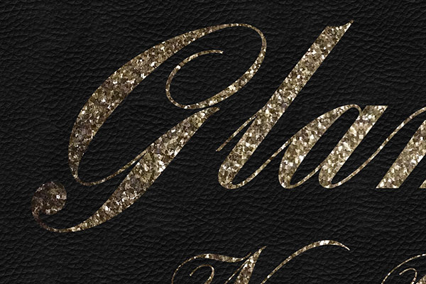 Gold Text Effect Vol.33