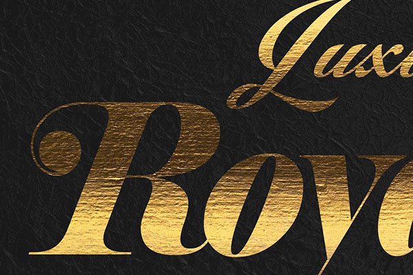Gold Text Effect Vol.34