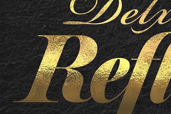 Gold Text Effect Vol.38