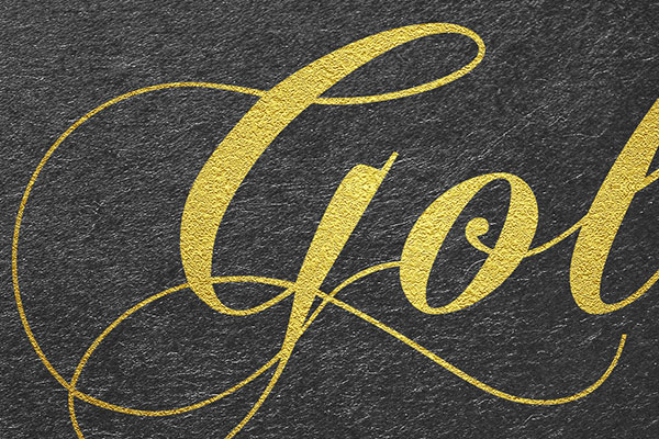 Gold Text Effect Vol.6