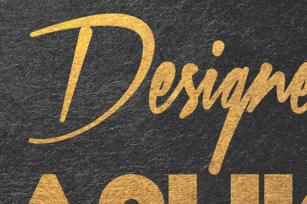 Gold Text Effect Vol.8