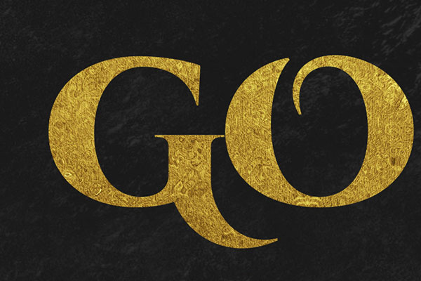 Gold Text Effect Vol.9