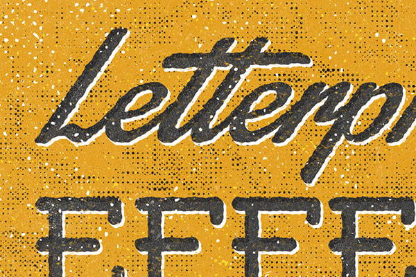 Letterpress Text Effect Vol.2