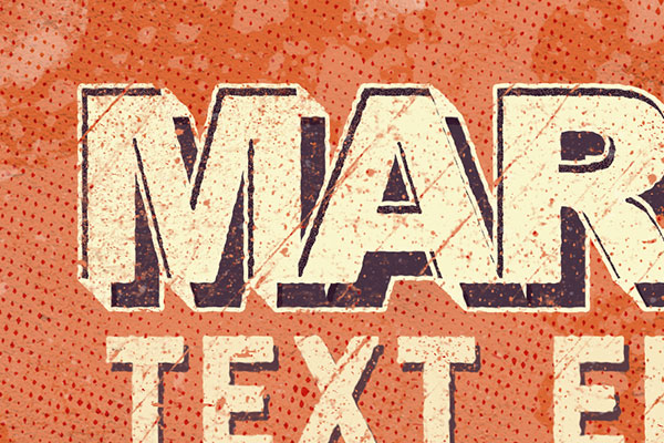 Letterpress Text Effect Vol.9