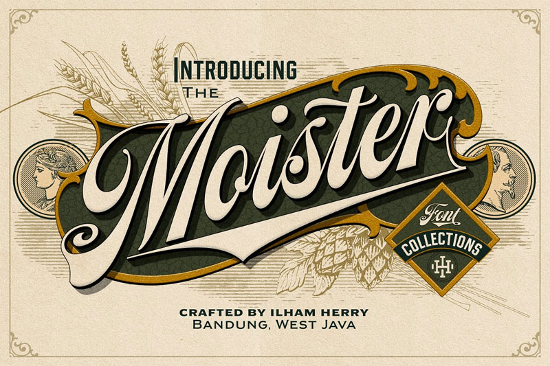 moister money font