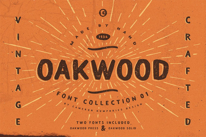 oakwood press african font