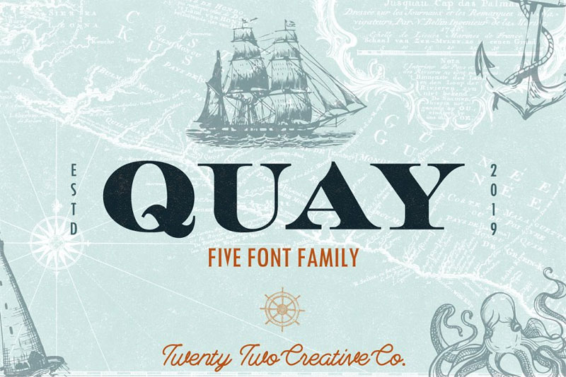 quay money font