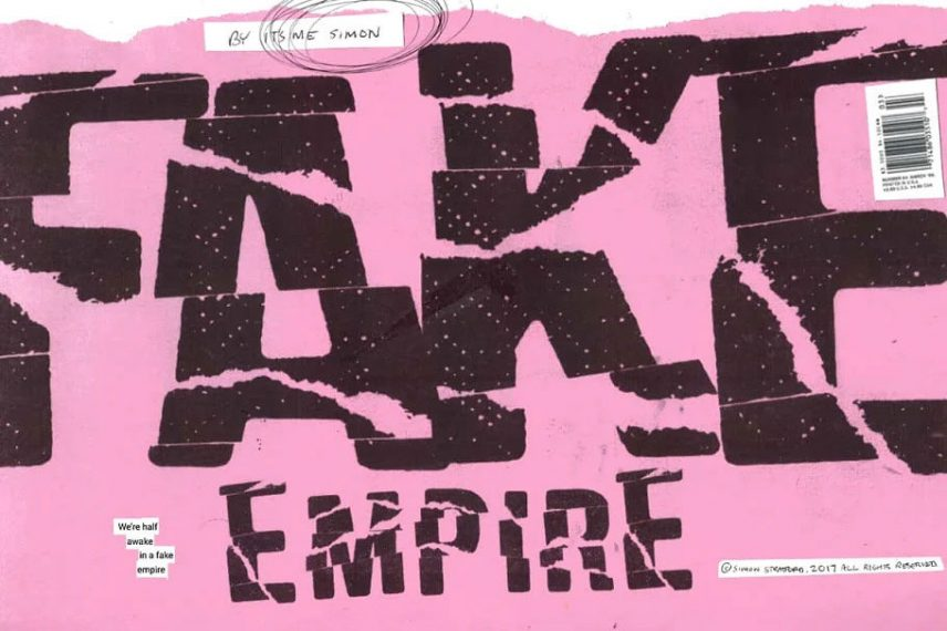 Fake Empire Distressed Fonts