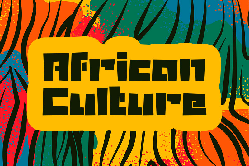 african culture african font