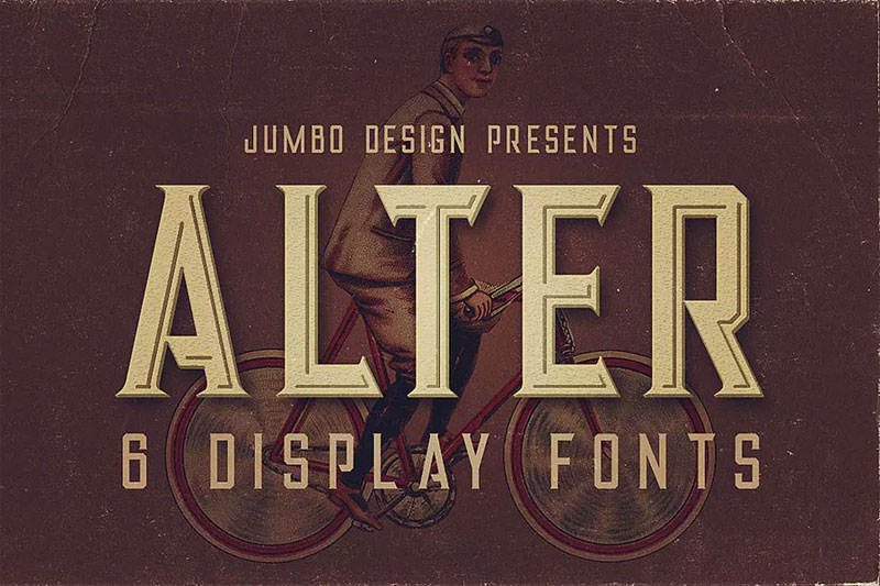 alter 70s font