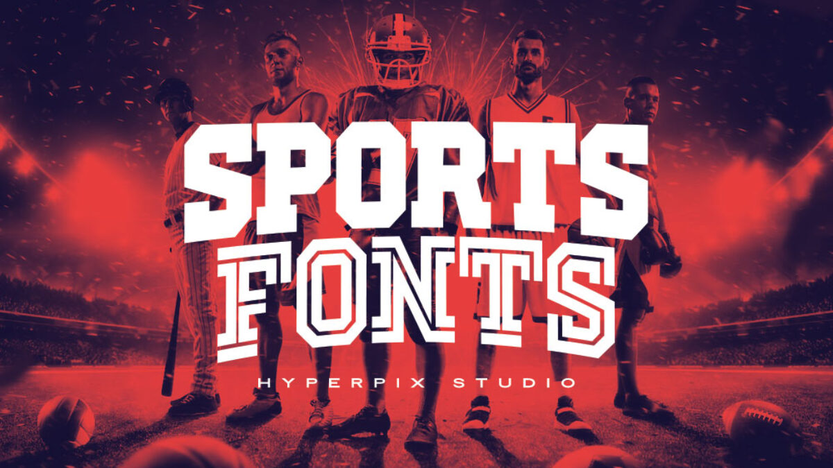 80 Best Free And Premium Sports Fonts 2020 Hyperpix