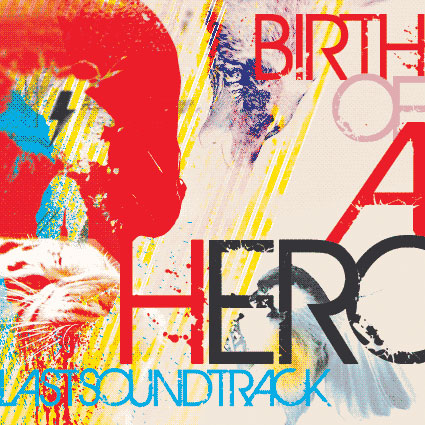 birth of a hero distressed font