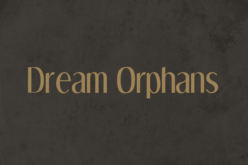 dream orphans 70s font