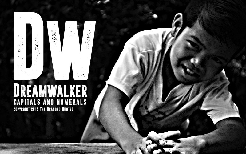 dreamwalker industrial font