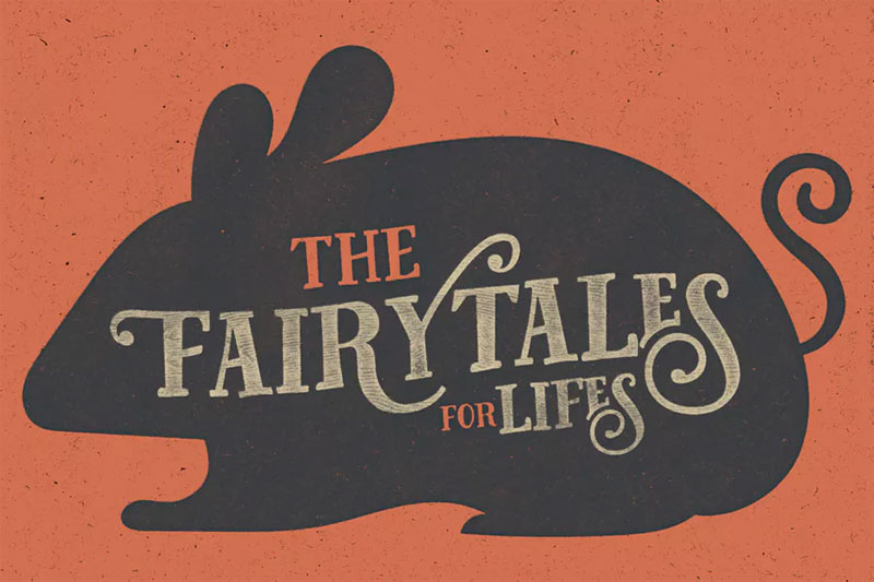 fairy tales 70s font