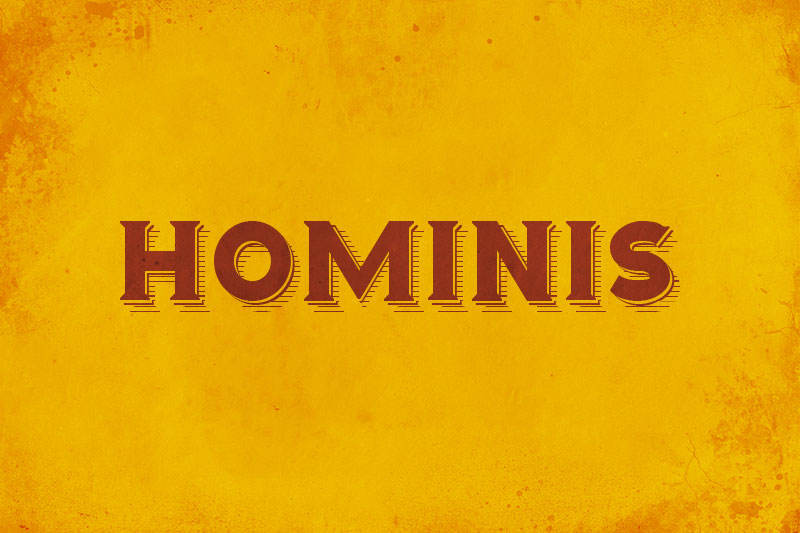 hominis 70s font