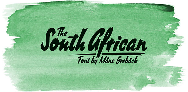 south african african font