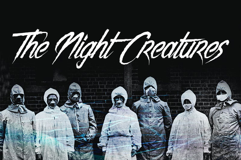 the night creatures horror and scary font