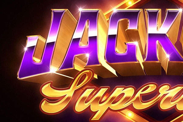 Jackpot Text and Logo Effect