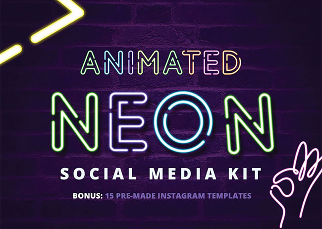 neon one neon font