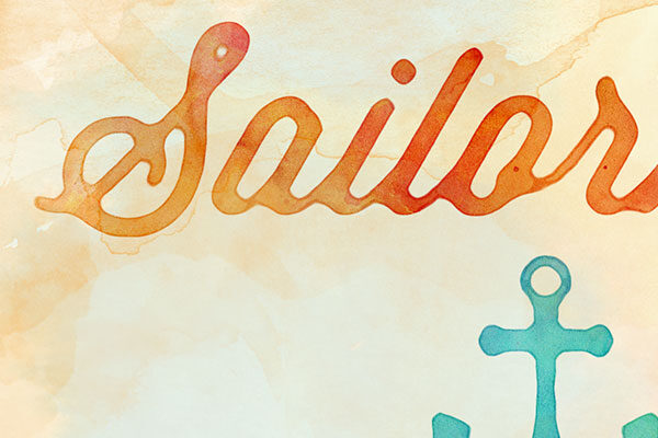 Watercolor Text and Logo Effects Vol.3