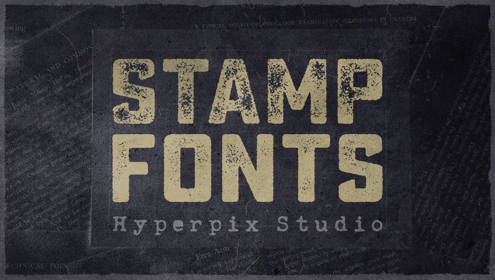 Download 65+ Best Free and Premium Stamp Fonts 2020 | Hyperpix