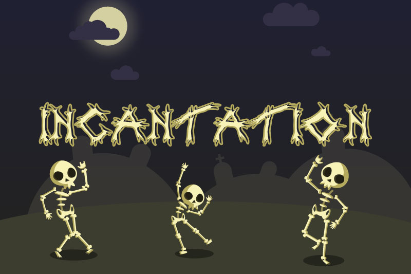 incantation witch font