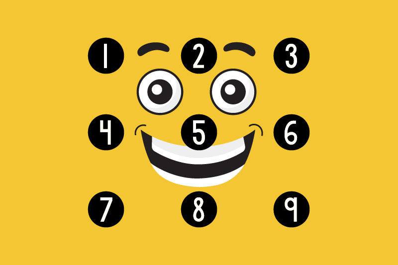 kg counting stars number font