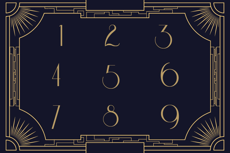 riesling number font