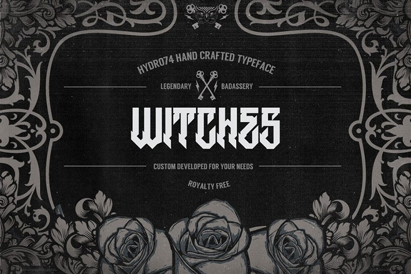 witches witch font
