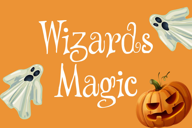 wizards magic witch font