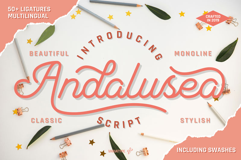 andalusea thank you font