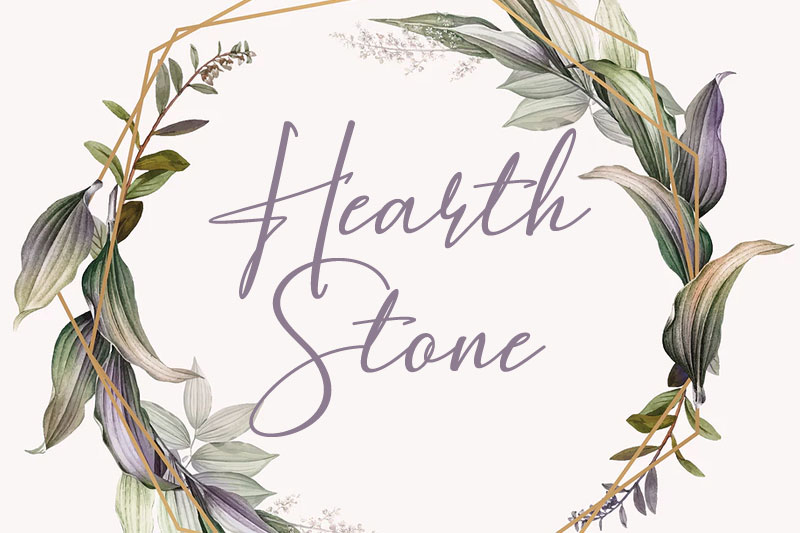 hearth stone thank you font