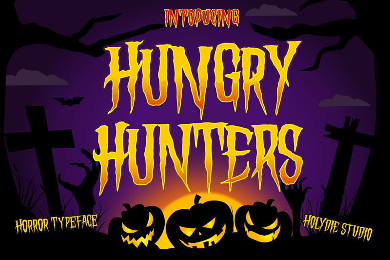 hungry hunters death metal font