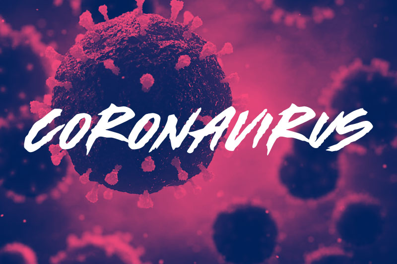made by bears coronavirus font