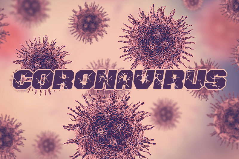 vehicle breaks down coronavirus font
