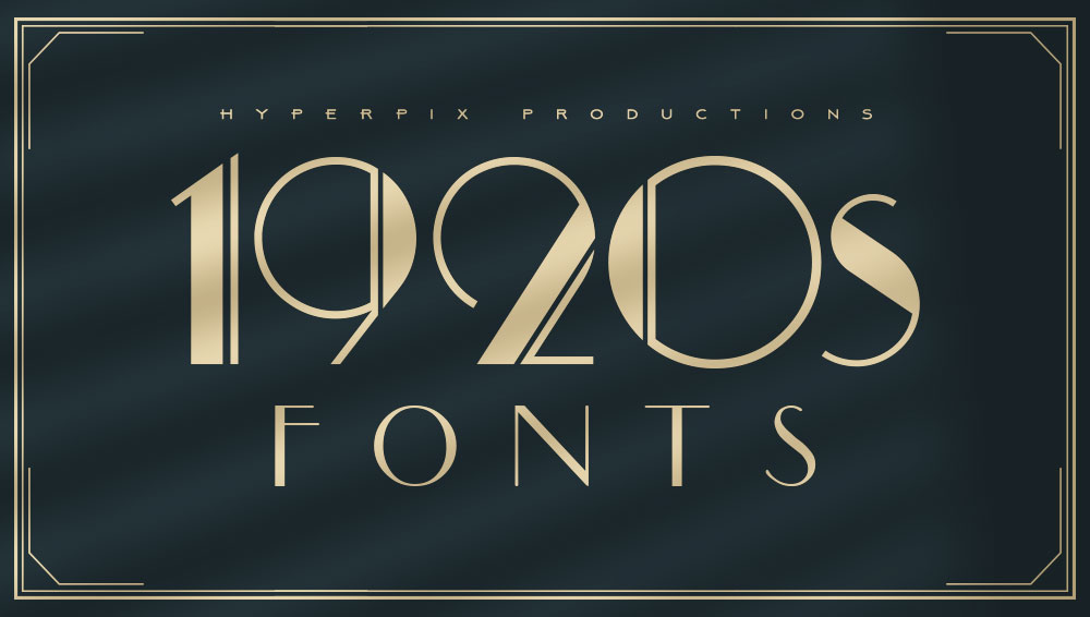 Best Free and Premium 1920s Fonts