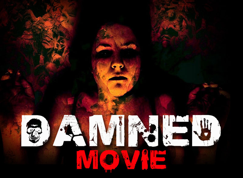 damned deluxe horror and scary font